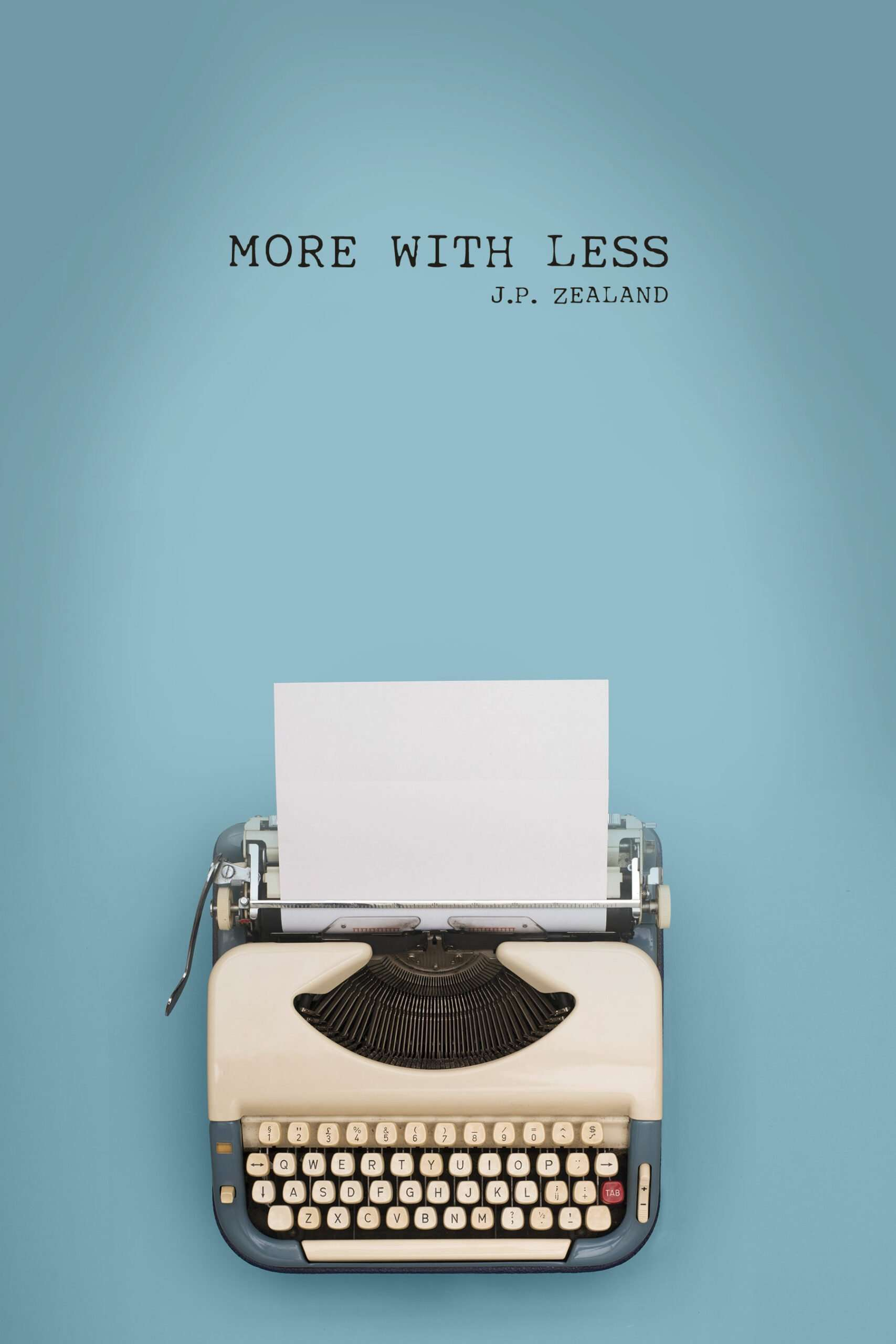 "Book cover for ""More With Less"" a graphic design work by SkyCastle Productions based in Atlanta"
