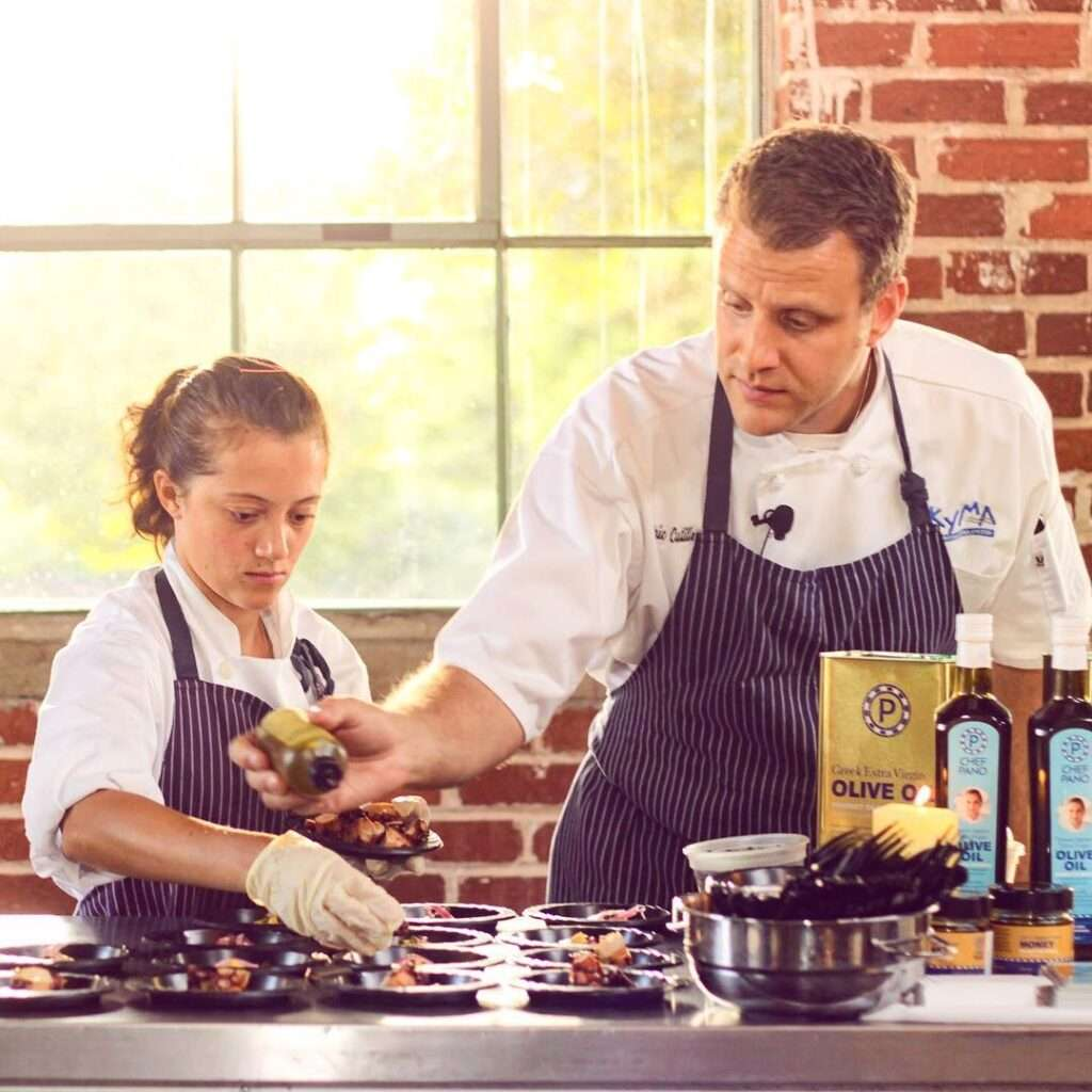 Photo of a chef taken by SkyCastle Productions Photographer William Twitty