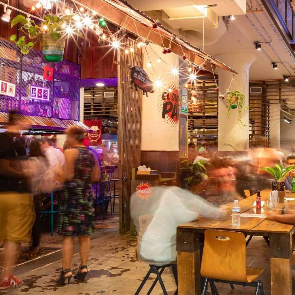Photo of a busy restaurant taken by SkyCastle Productions Photographer William Twitty