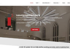 Screen shot of the Illuminations, Inc.'s website designed by Atlanta web design agency SkyCastle Productions